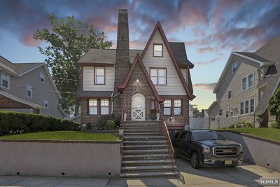 Hudson County Single Family Home For Sale: 22 Webster Avenue