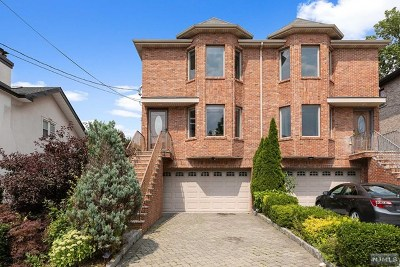 Cliffside Park NJ Condo/Townhouse For Sale: $659,000