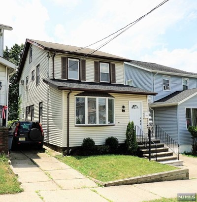 North Arlington NJ Single Family Home For Sale: $389,000