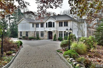 Saddle River NJ Single Family Home For Sale: $2,349,999