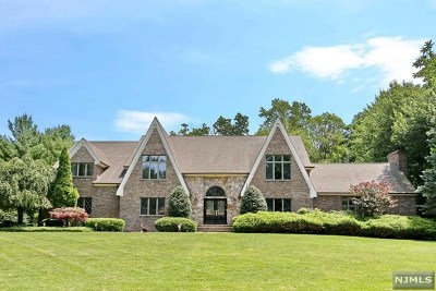 Franklin Lakes Single Family Home For Sale: 712 Horseshoe Trail