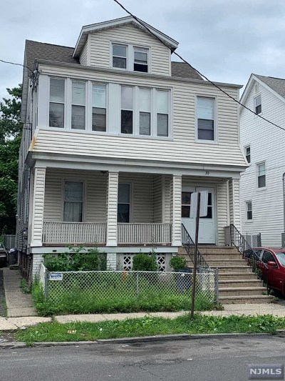 Essex County Multi Family 2-4 For Sale: 33 Chester Avenue