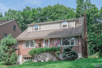 Glen Rock Single Family Home For Sale: 25 Hillview Terrace