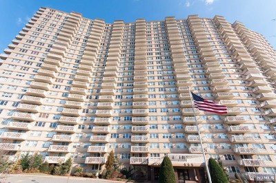 Fort Lee Condo/Townhouse For Sale: 555 North Avenue #4h