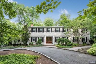 Norwood NJ Single Family Home For Sale: $950,000