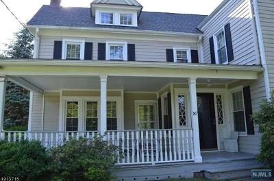 Morris County Single Family Home For Sale: 87 Ridgedale Avenue