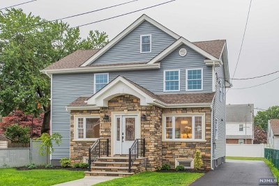 Saddle Brook Single Family Home For Sale: 341 3rd Street