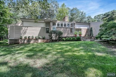 Woodcliff Lake Single Family Home For Sale: 6 Knollwood Road