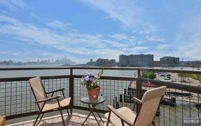 Weehawken NJ Condo/Townhouse For Sale: $675,000