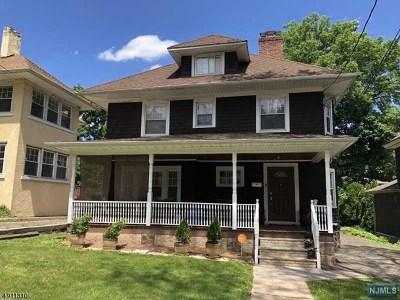 Hackensack Single Family Home For Sale: 350 Hamilton Place
