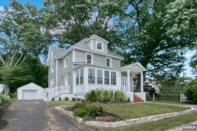 Englewood Single Family Home For Sale: 12 Oakland Street