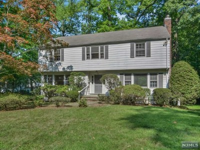Tenafly Single Family Home For Sale: 50 Cypress Street
