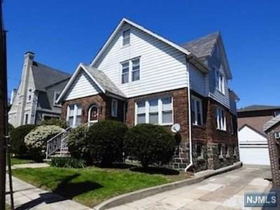 Cliffside Park Single Family Home For Sale: 7 Lincoln Avenue