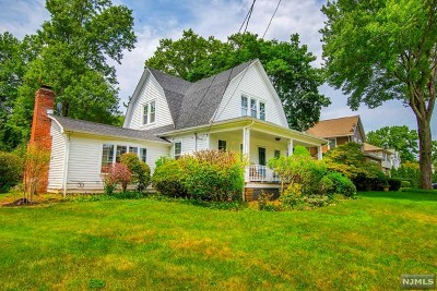 Cresskill Single Family Home For Sale: 121 6th Street