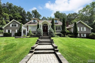 Upper Saddle River Single Family Home For Sale: 1 Castle Hill Court