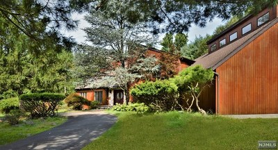 Upper Saddle River Single Family Home For Sale: 9 Corn Mill Court