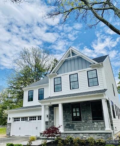Ho-Ho-Kus Single Family Home For Sale: 18 Van Dyke Drive