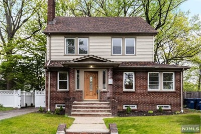 Hackensack Single Family Home For Sale: 228 Ross Avenue