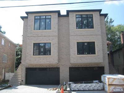 Fort Lee Condo/Townhouse For Sale: 807 Inwood Terrace #A