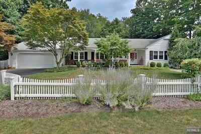 Ho-Ho-Kus Single Family Home For Sale: 685 West Saddle River Road
