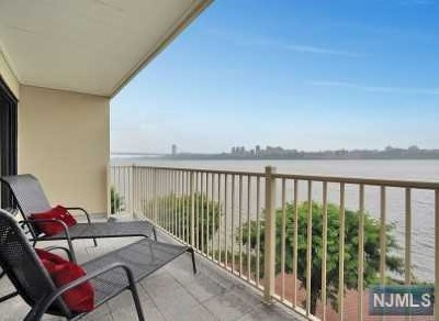 Edgewater Condo/Townhouse For Sale: 1225 River Road #12d