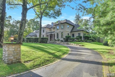 Upper Saddle River Single Family Home For Sale: 38 Weiss Road