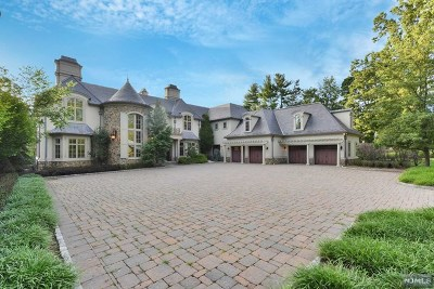 Saddle River NJ Single Family Home For Sale: $6,800,000