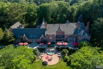 Franklin Lakes NJ Single Family Home For Sale: $7,999,000
