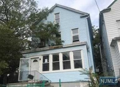 Paterson Single Family Home For Sale: 368-372 East 27th Street