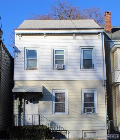 Paterson Multi Family 2-4 For Sale: 169 Pearl Street
