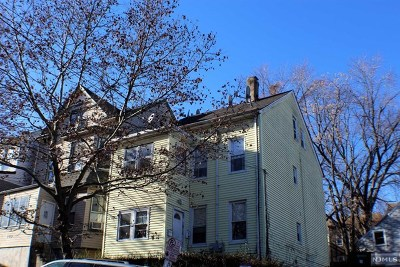 Paterson Multi Family 2-4 For Sale: 145 North 2nd Street