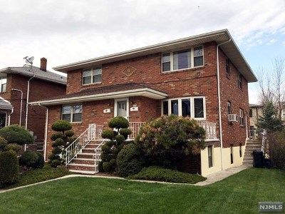 Fort Lee Multi Family 2-4 For Sale: 407 North Avenue