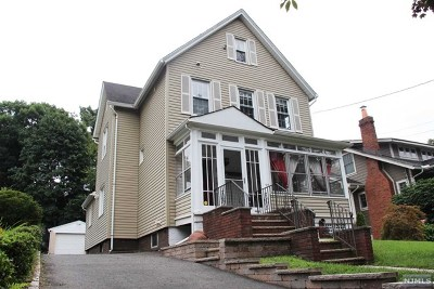 Rutherford Single Family Home For Sale: 75 Daniel Avenue