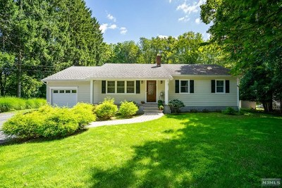 Saddle River Single Family Home For Sale: 102 West Saddle River Road