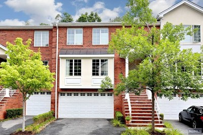 Upper Saddle River Condo/Townhouse For Sale: 41 Skymark Court