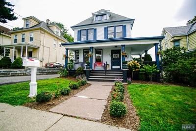 Hasbrouck Heights Single Family Home For Sale: 222 Hamilton Avenue