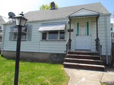 North Arlington NJ Single Family Home For Sale: $349,000