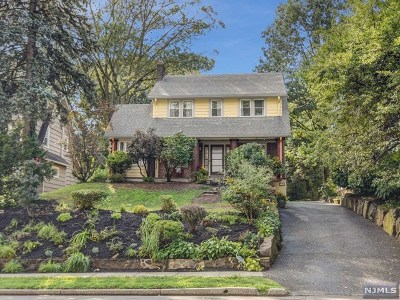 Essex County Single Family Home For Sale: 153 Gregory Avenue