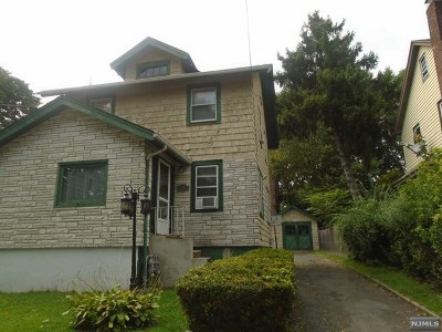 Ridgefield Park Single Family Home For Sale: 206 3rd Street