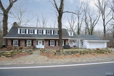 Ho-Ho-Kus NJ Single Family Home For Sale: $599,000