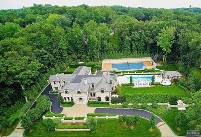 Tenafly NJ Single Family Home For Sale: $5,995,000