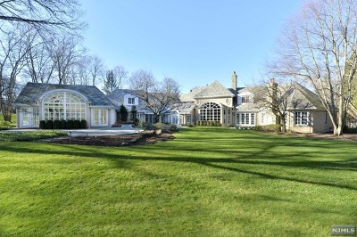 Saddle River NJ Single Family Home For Sale: $9,800,000