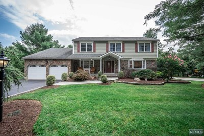 Mahwah Single Family Home For Sale: 1 Merrill Drive