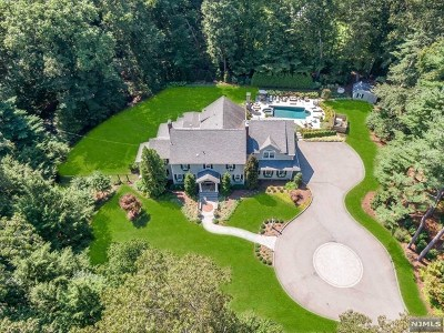 Saddle River Single Family Home For Sale: 79 Chestnut Ridge Road