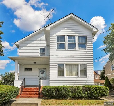 Totowa Multi Family 2-4 For Sale: 12 Jefferson Place