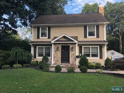 Westwood Single Family Home For Sale: 249 4th Avenue