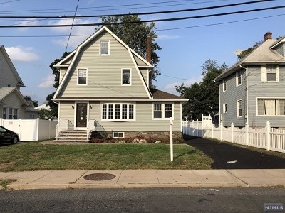 Hasbrouck Heights Single Family Home For Sale: 233 Passaic Avenue