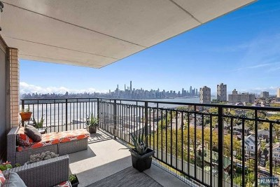 Hudson County Condo/Townhouse For Sale: 7855 Boulevard East #15j