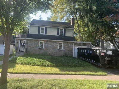 Rochelle Park Single Family Home For Sale: 46 Harvey Avenue
