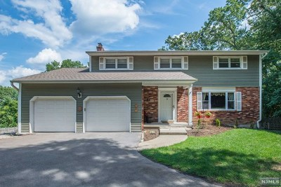 Pompton Lakes Single Family Home For Sale: 230 Hilltop Court